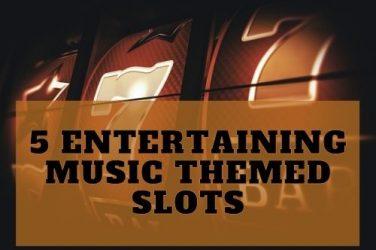 5 Entertaining Music Themed Slots